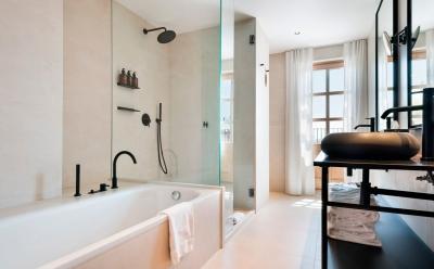 استاندارد نورپردازی حمام