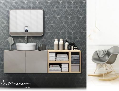 طراحی روشویی لوکس در فضاهایی غیر از سرویس های بهداشتی!