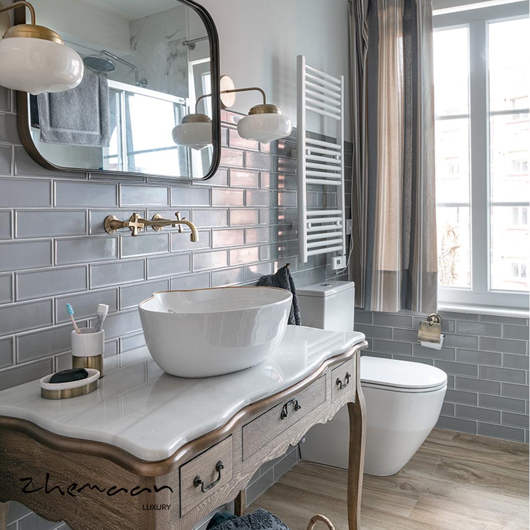 نمونه هایی از زیباترین و مدرن ترین سرویس بهداشتی لوکس و نحوه طراحی آن1