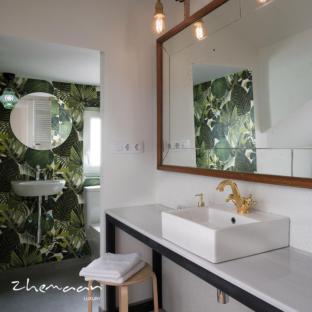 نمونه هایی از زیباترین و مدرن ترین سرویس بهداشتی لوکس و نحوه طراحی آن7