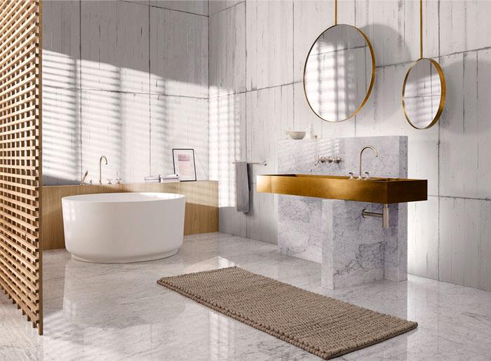 نمونه هایی از زیباترین و مدرن ترین سرویس بهداشتی لوکس و نحوه طراحی آن19