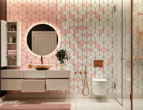 ۶ ایده فوق العاده برای انتخاب رنگ در طراحی حمام