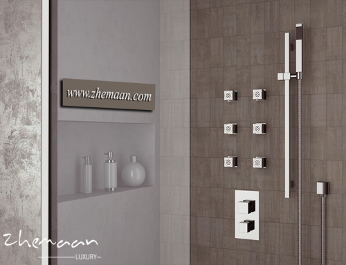 انواع دوش حمام مدرن