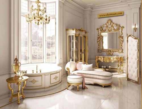 طراحی حمام به سبک کلاسیک