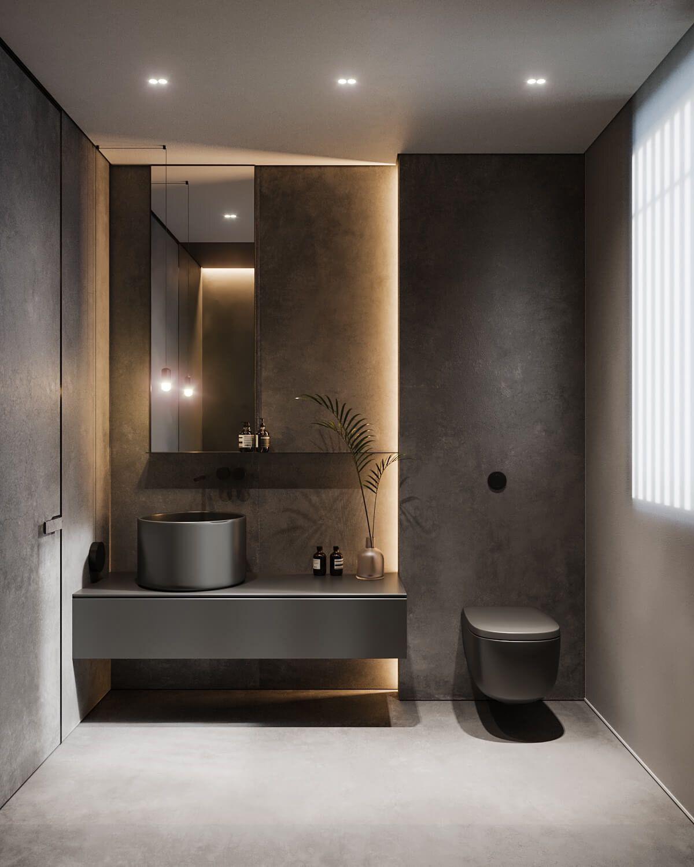 توالت فرنگی توکار