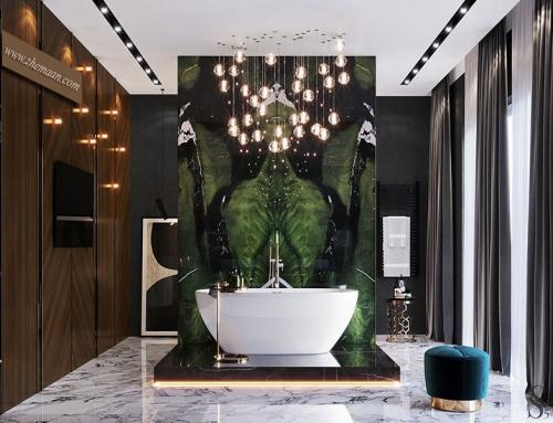 خرید وان حمام لوکس خارجی و تأثیر آن بر دکوراسیون داخلی حمام
