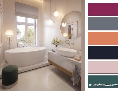 رنگ های نسل جدید در طراحی داخلی سرویس بهداشتی و حمام