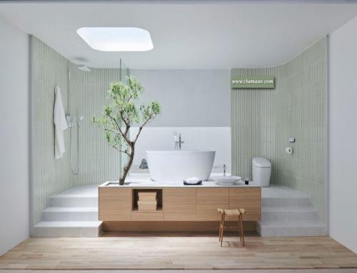 طراحی حمام به سبک اورینتال