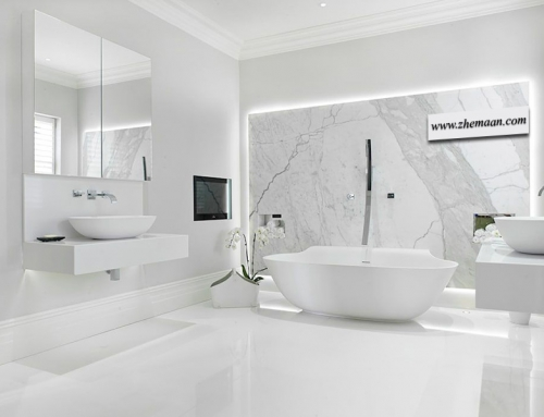 ویژگی های سبک مینیمال در طراحی سرویس بهداشتی مدرن