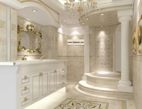 سبک باروک در طراحی حمام ؛ هنرمندانه و مجلل