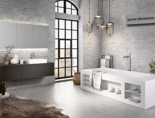 سبک لافت در طراحی داخلی حمام ؛ تلفیق سبک صنعتی و مینیمال