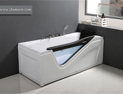 حمام شیک ؛ وان خارجی یک گزینه ایده آل