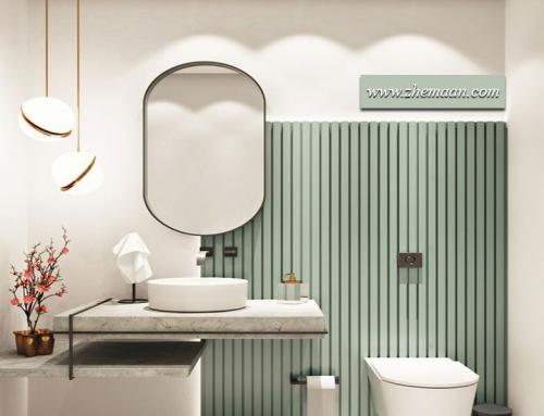 رنگ های پاستلی ؛ رنگ های تابستانی در طراحی دکوراسیون حمام