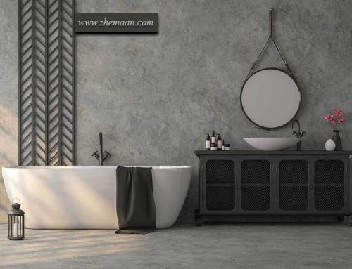 طراحی حمام به سبک صنعتی ؛ سرد و خشک ولی جسورانه