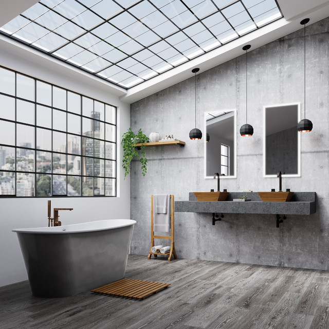 طراحی حمام صنعتی