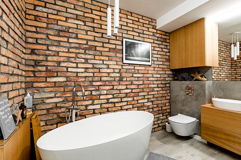 طراحی حمام با وان به سبک رترو